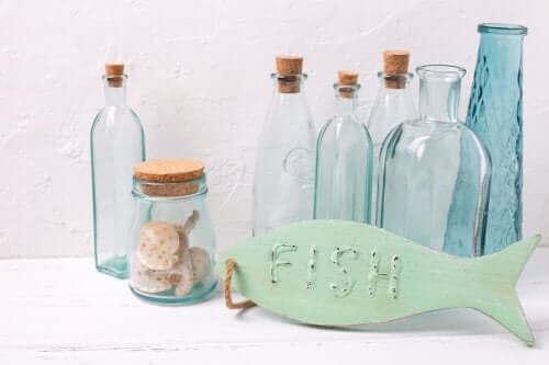 denizci dekoru şişe aksesuarları