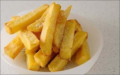 bir kase patates kızarması