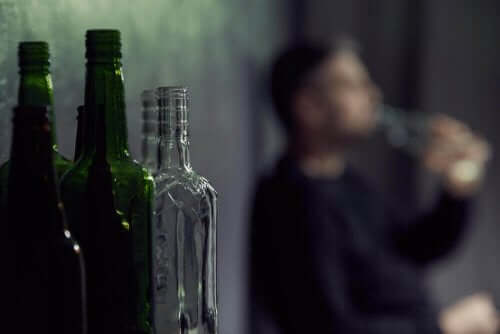 içki içen adam
