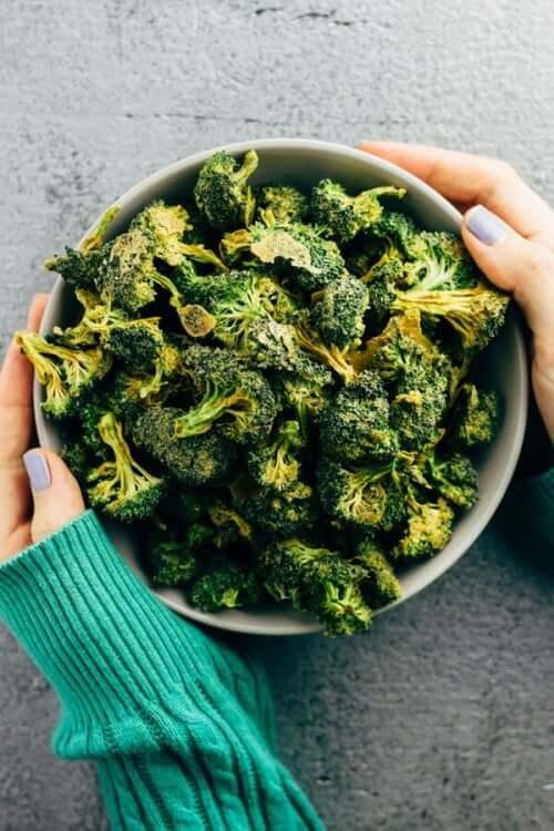 brokoli cipsi