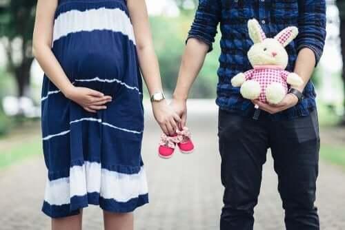 ebeveyn olmaya hazır çift