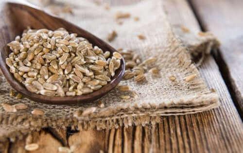 kavuzlu buğday tahta kaşık