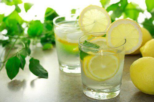 limon çayı infüzyon