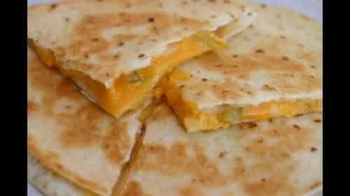 peynirli quesadilla