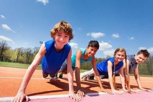 sportif çocuklar