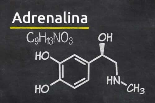 adrenalin kimyasal formül