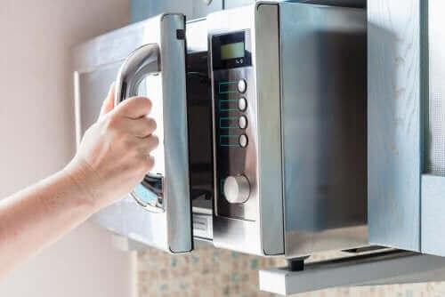 mikrodalga fırın temizliği
