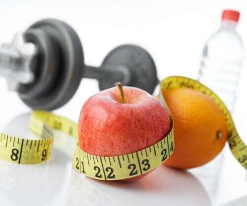 Sağlıklı şeyleri temsil eden bir fotoğraf.
