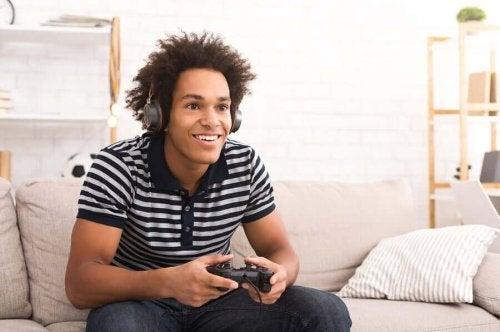 video oyunu salon