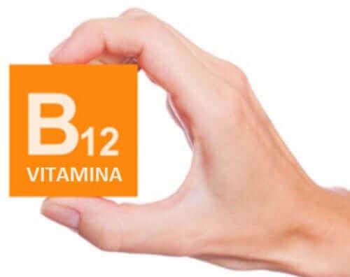 B12 vitaminini temsili bir fotoğraf.