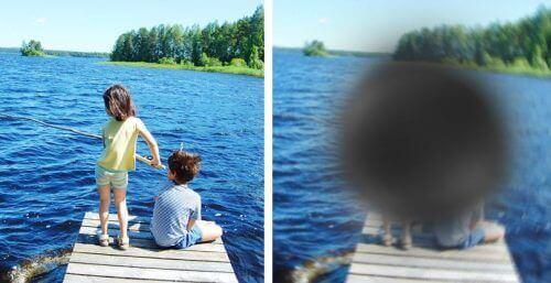bulanık görüntü net görüntü çocuklar deniz