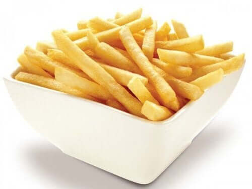 bir kase patates kızartması