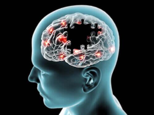 zihinsel performansı gösteren şablon