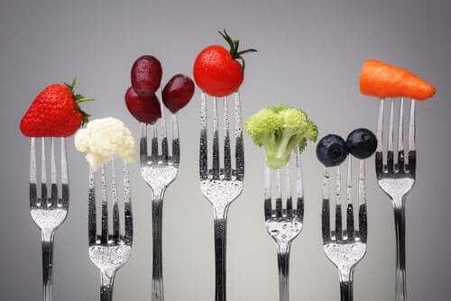 obeziteyi önlemek için meyve ve sebzeler