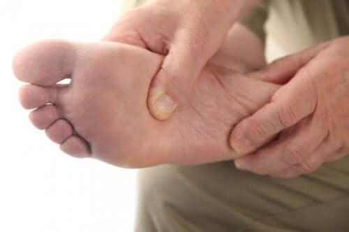 ayak altı ve diabulimia