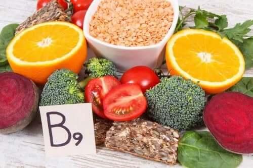 B9 vitamini içeren besinler