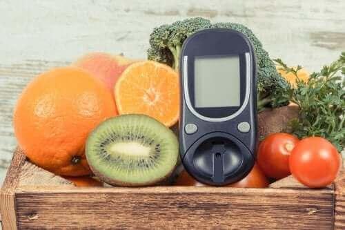 meyve sebze glikoz ölçer