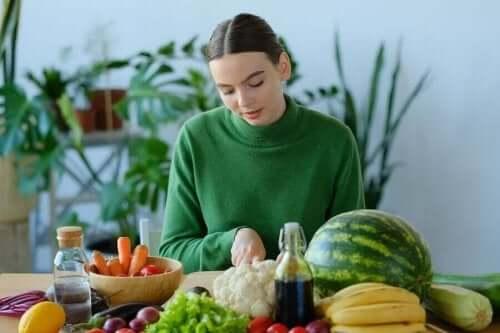 meyveler sebzeler kadın A vitamini
