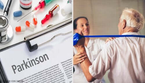Tedavi gören Parkinson hastası ve Parkinson hakkında makale ve ilaçlar
