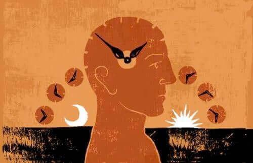 Yaz saati uygulaması dolayısıyla kişinin vücudunda ortaya çıkan etkileri temsil eden bir illüstrasyon.