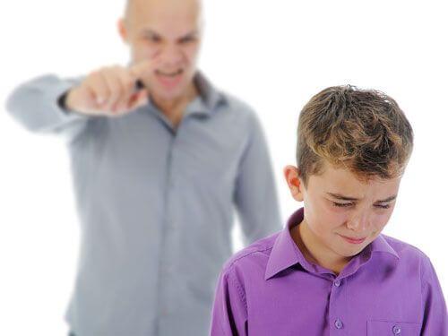 Bağıran bir baba