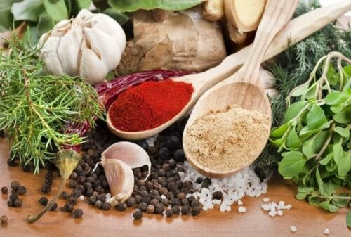 delicious herbs and spices that we can use in cooking