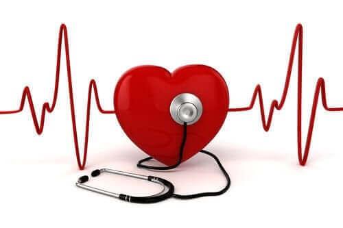 Kalbin ritmini temsil eden bir illüstrasyon.