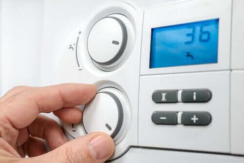ev ısısını ayarlayın