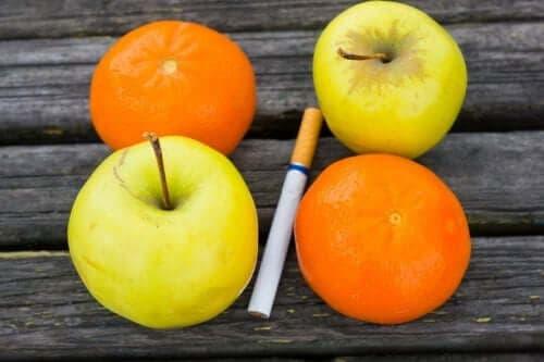 sağlıklı beslenme ve sigara