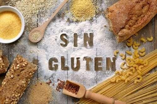 Glutensiz makarna ve gıdalar.