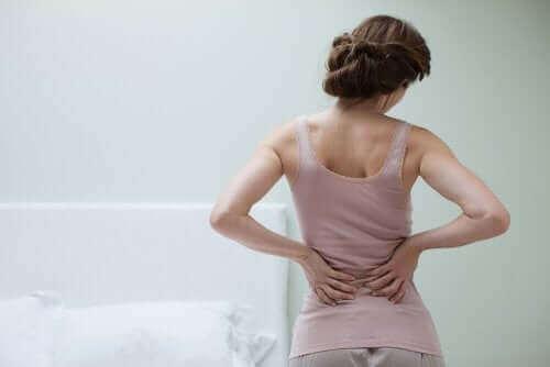 fibromiyalji yaşayan kadın