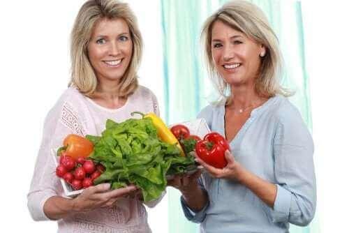 menopoz sırasında diyet