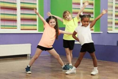 çocuklarda beyin sağlığı ve zumba