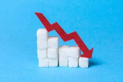 Şeker kullanımını azaltmak üzerine bir resim