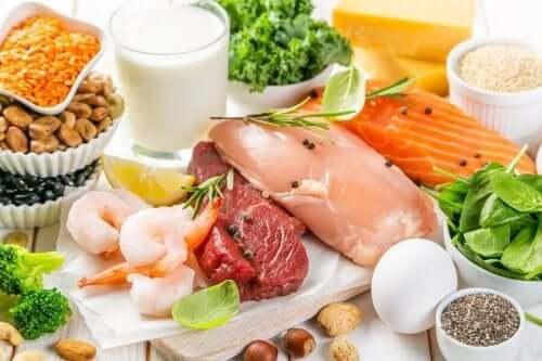 B vitamini bakımından zengin olan gıdalar.