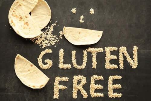 Glutensiz beslenmeyi temsil eden bir görsel.