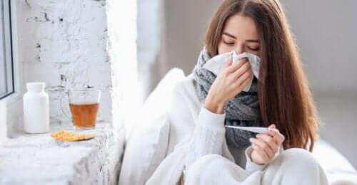 hasta kadın burun akıntısı bitki çayı