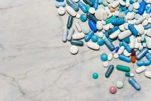 Farklı türde ilaçlar