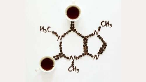 Kahvenin kimyasal yapısı.
