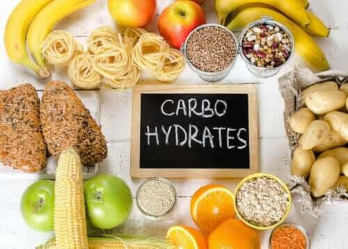 Karbonhidrat bakımından zengin olan gıdalar.
