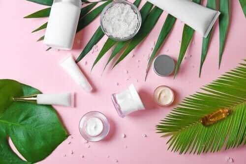 bitkiler kozmetik ürünler