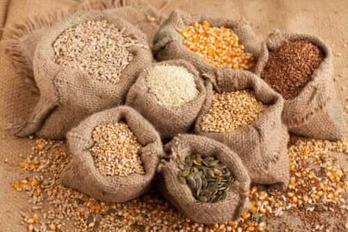 çeşitli tohumlar