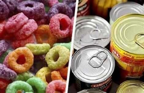 kanserli insanlar için işlenmiş gıdaların zararı