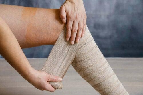 sıkıştırma bandajı