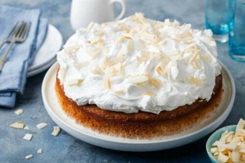 tabakta triliçe keki