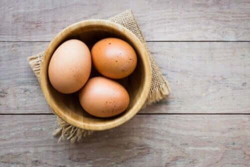 Kasede yumurtalar