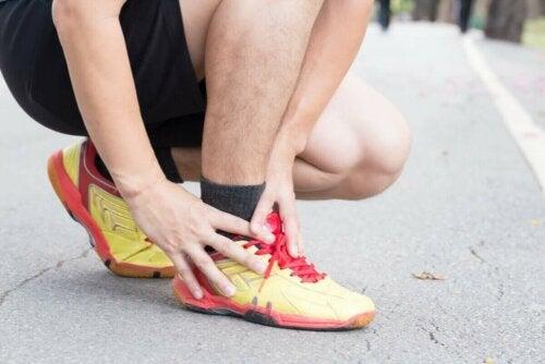 ayak bileği spor ağrı