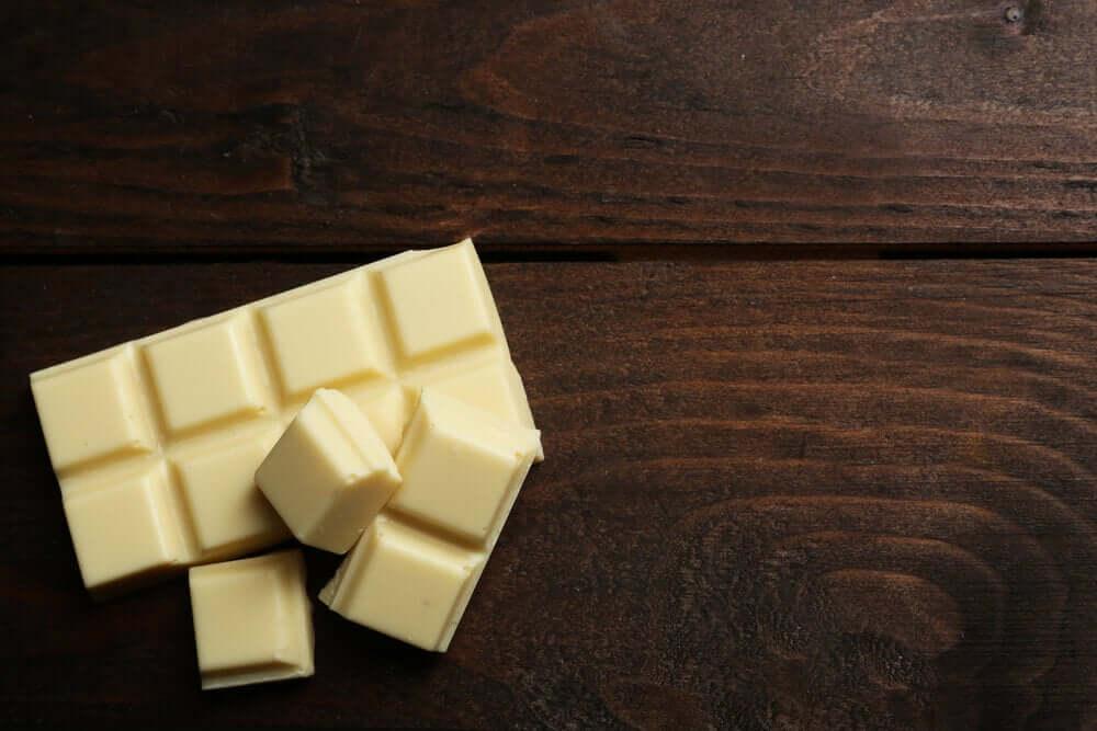 beyaz çikolata