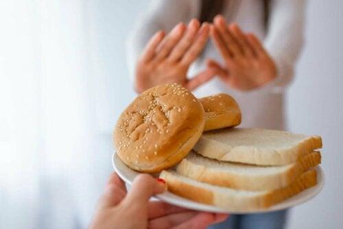 ekmek hayır diyen kadın