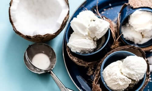 Laktozsuz Hindistan Cevizi Dondurması Tarifi